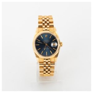 Montre d'occasion rolex date just or